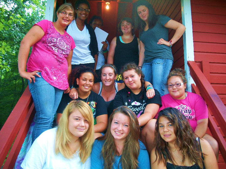 These were the summer loves of my life.  I lived in a cabin with these girls for a whole summer!