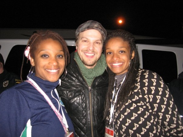 Gavin DeGraw and your peeps truly!