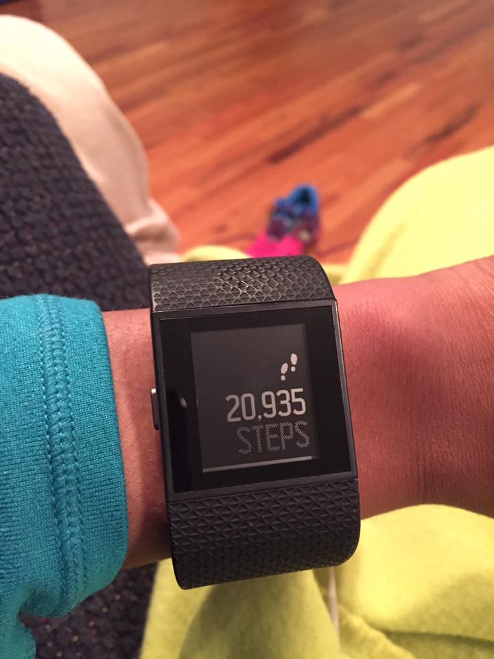 The Fitbit Surge. Great as your everyday wearable, but also awesome for runs and cross training.